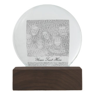 Personalized photo snowglobe | Add your image here