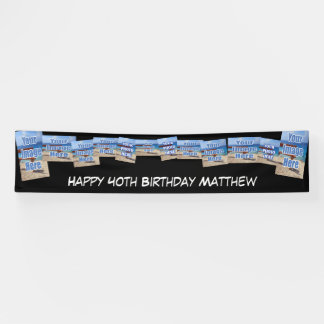 Personalized Photo Template Birthday / Other Event Banner