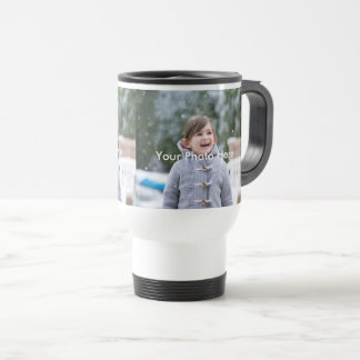 Personalized Photo Travel/Commuter Mug