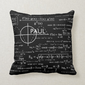 Personalized Physics Gifts for Physicists Throw Pillow