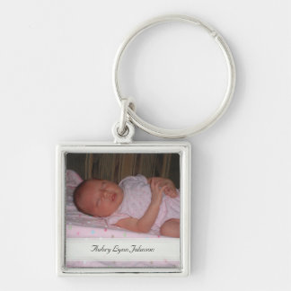 Personalized Picture Keepsake Keychain