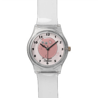 Personalized Pig Design Watch