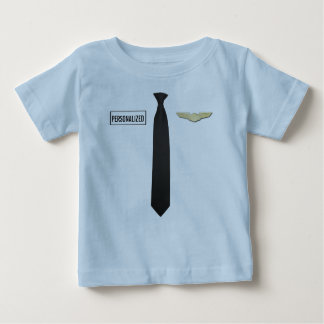 Personalized Pilot Shirt, Aviation Kids Clothing Baby T-Shirt