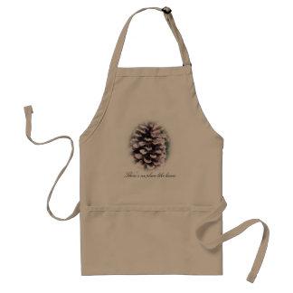 Personalized Pine Cone Apron