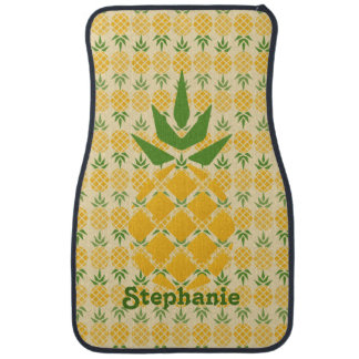Personalized Pineapple Car Mat