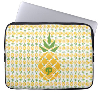 Personalized Pineapple Computer Sleeves