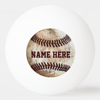 Personalized Ping Pong Balls for Baseball Lovers Ping Pong Ball
