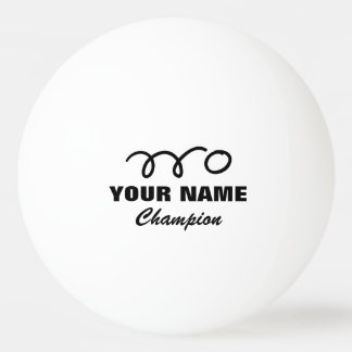 Personalized ping pong balls for table tennis game ping pong ball