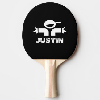 Personalized ping pong paddles for table tennis