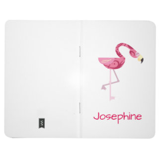 Personalized Pink Flamingo Bird Journals