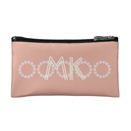 Personalized Pink Salmon Add Initials Bag