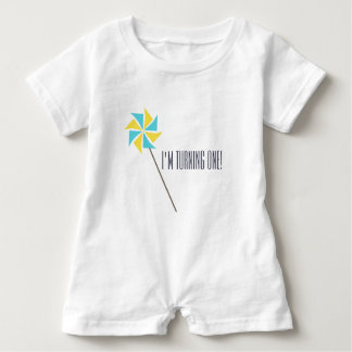 Personalized Pinwheel Apparel Baby Romper