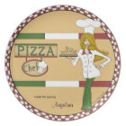 Personalized Pizza Chef Plate