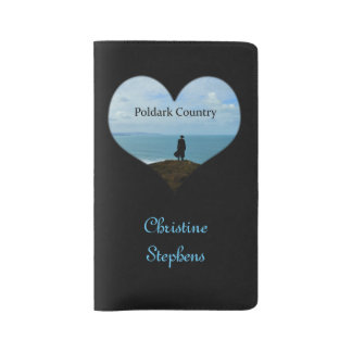 Personalized Poldark Country Cornwall England Large Moleskine Notebook