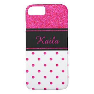 Personalized Polka Dot iPhone 7 Case