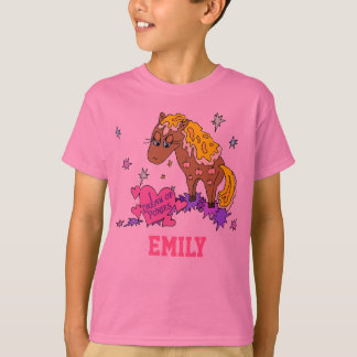 Personalized Pony (Your Name Here) T-Shirt