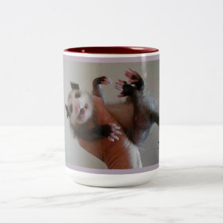 Personalized possum mug