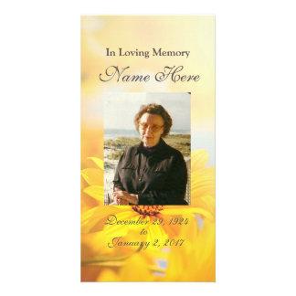 Personalized Prayer Card / Prayer Cards Photo Greeting Card