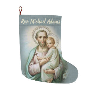 Personalized Priest Christmas Stocking