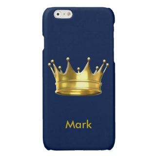 Personalized Prince Crown iPhone 6 Case