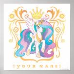 Personalized Princess Celestia Poster