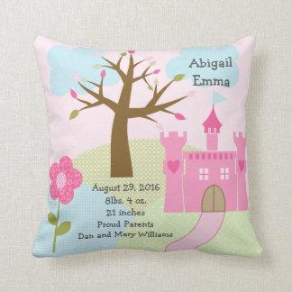 Personalized Princess Dream/Castle Keepsake Pillow