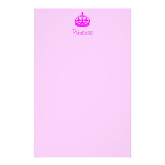 Personalized Princess Stationery