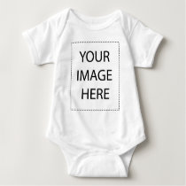 Personalized products baby bodysuit