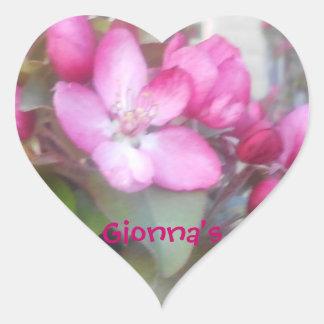 Personalized Property Sticker's Hearts Heart Sticker