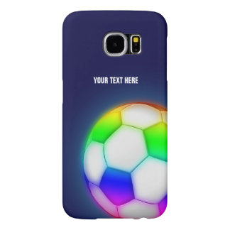 Personalized Psychedelic Soccer | Football Ball Samsung Galaxy S6 Cases