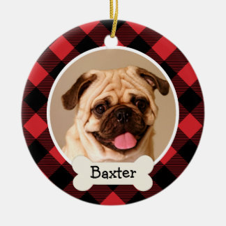 Personalized Puppy Dog Photo Ornament