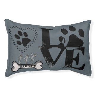 Personalized Puppy Love Pet Bed