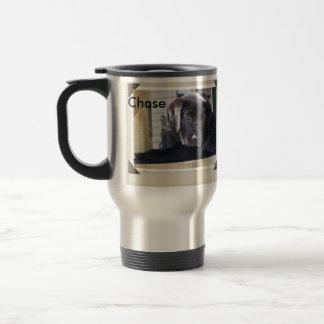 personalized puppy mug