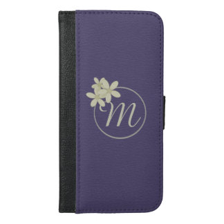 Personalized Purple iPhone 6/6s Plus Wallet