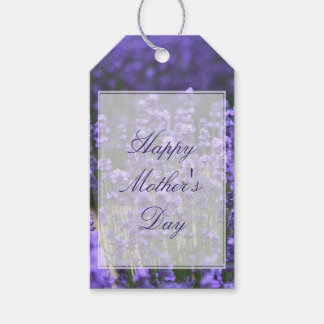 Personalized Purple Lavender Mothers Day Gift Tags Pack Of Gift Tags