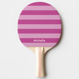 purple table tennis ping pong paddle