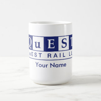 Personalized QuEST Rail Mug