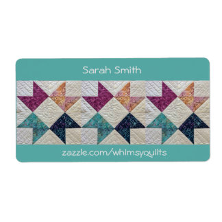 Personalized Quilt Stickers