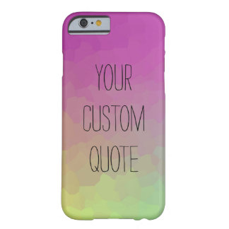 Personalized Quote Gradient Wallpaper Case