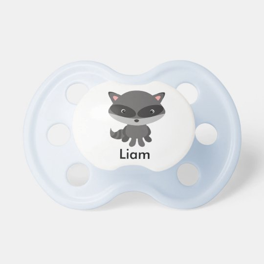 Personalized Raccoon Pacifier