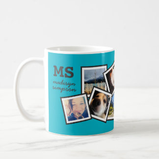 Personalized Random 10 Instagram Photo Collage Coffee Mug