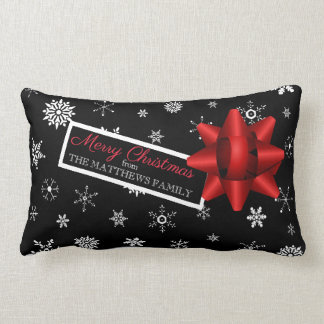 Personalized Realistic Simulated Christmas Gift Lumbar Pillow
