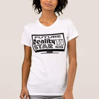 Personalized Reality TV Star T Shirt