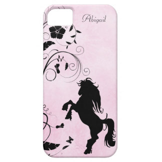 Personalized Rearing Horse iPhone 5 Case