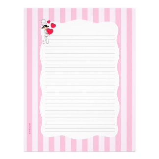 Personalized Recipe Pages for Recipe Binders Custom Letterhead