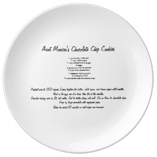 Personalized Recipe Plate