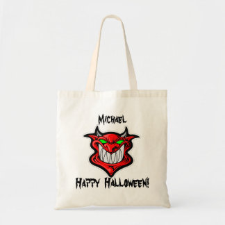 Personalized Red Devil Trick or Treat