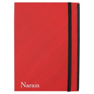 Personalized Red Glamour iPad Pro Case