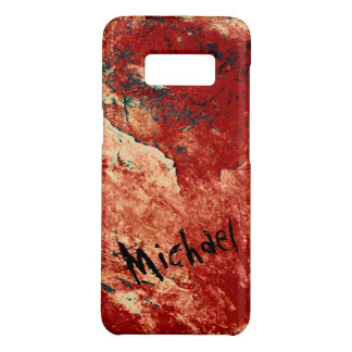 Personalized Red Painted Rock Case-Mate Samsung Galaxy S8 Case