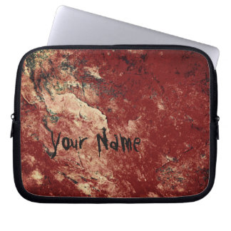 Personalized Red Rock Laptop Sleeve
